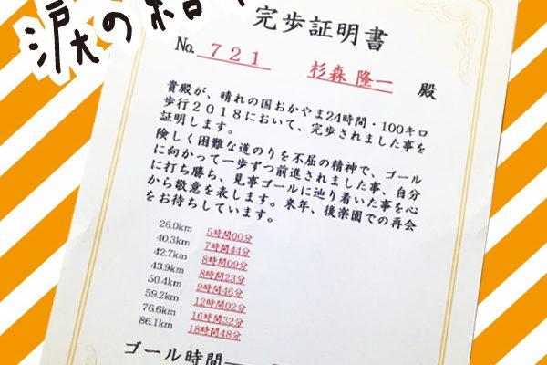 ★24時間 100km歩行に挑戦!!★ イメージ